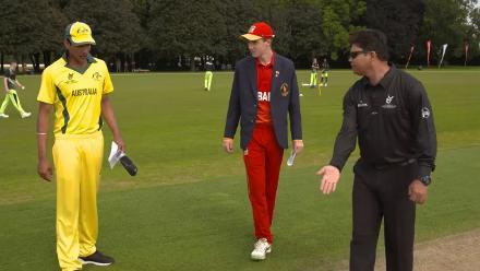 Toss: Australia wins the toss and asks Zimbabwe to bat