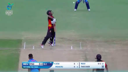 Papua New Guinea innings highlights against India at U19CWC