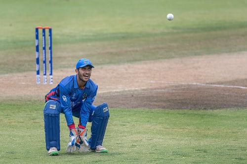 Wicketkeeper Ikram Ali Khil