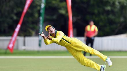 Aussie catch compilation against Zimbabwe at U19CWC