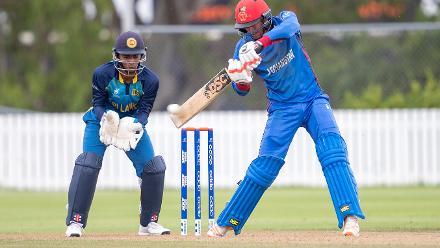 Ibrahim Zadran starred for Afghanistan in their win over Sri Lanka