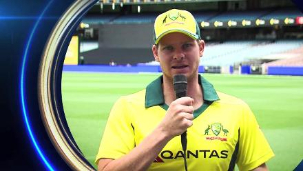 Steve Smith speaks after being voted as ICC Test Cricketer of the Year