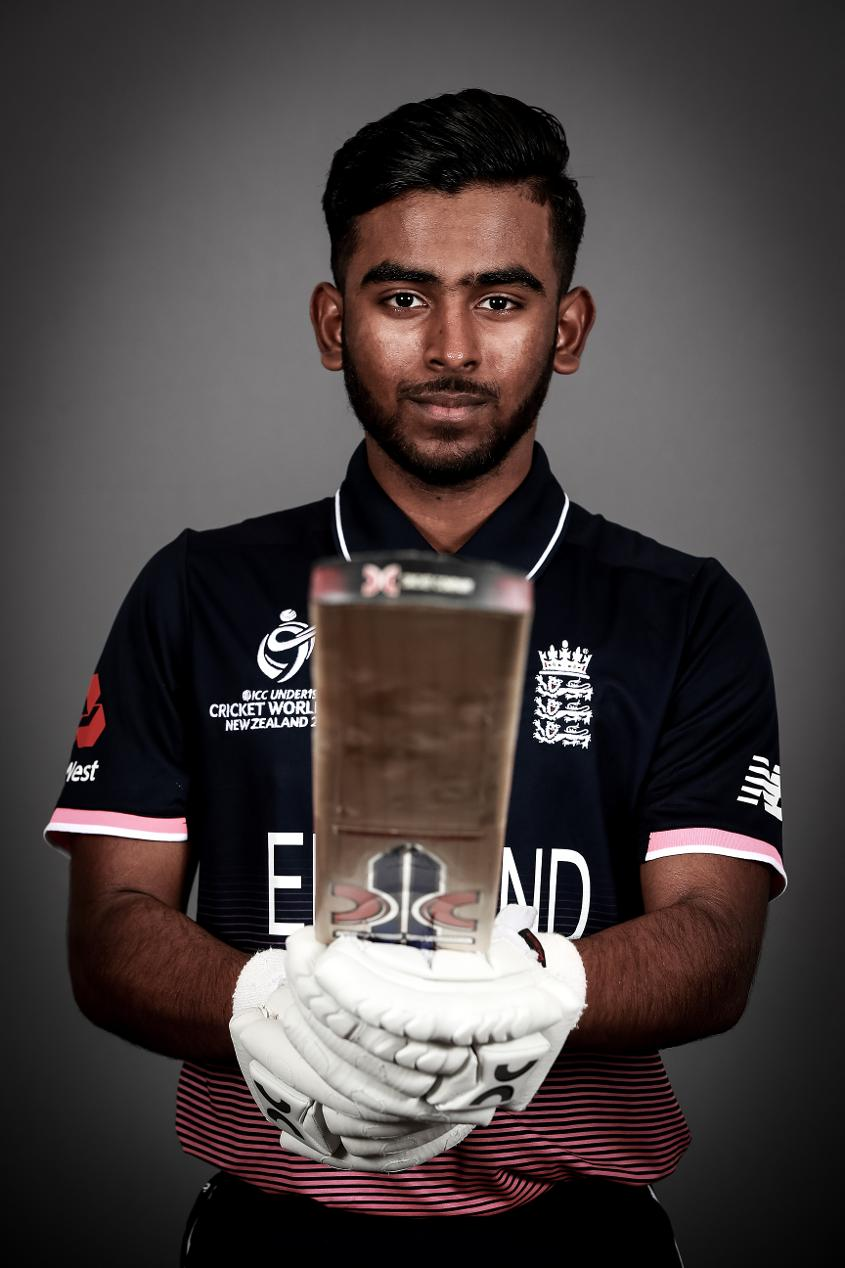 Savin Perera: England U19s brilliant young batting star
