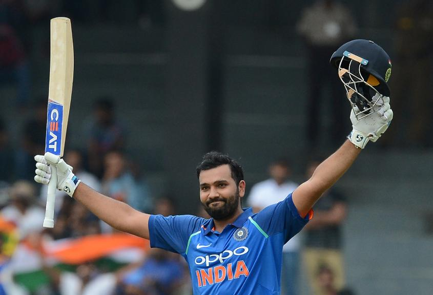 Rohit Sharma made history with a third ODI double-century