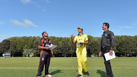 Coin Toss: PNG U19s win the toss and choose to bat against Australia