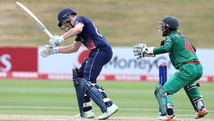 arry Brook of England batting against Bangladesh