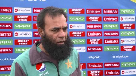 Pre-game: Pakistan U19s assistant coach Abdul Rehman