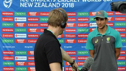 Pre-game: Australia U19s captain Jason Sangha