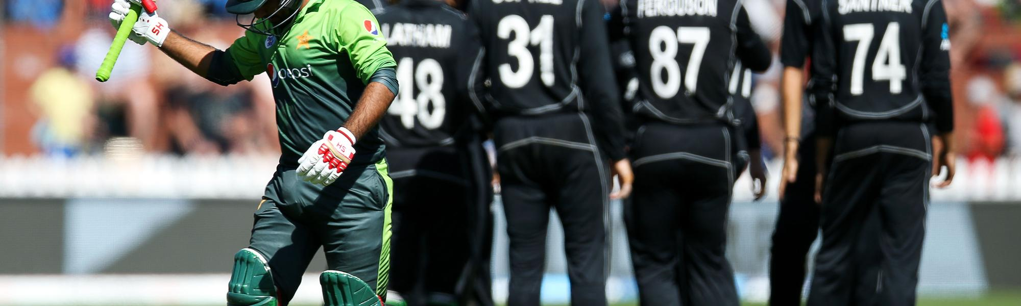 Pakistan v New Zealand