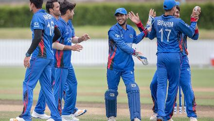 Ireland lose Mark Donegan to Afghanistan's Mujeeb Zadran