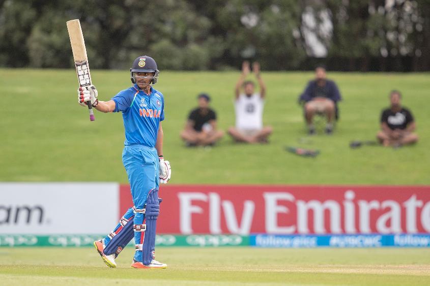 India U19 batsman Harvik Desai hit a maiden first-class century in his side's win