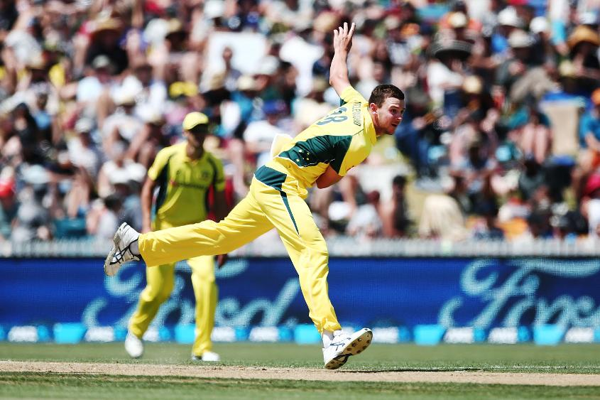 Australia are seeking a new-ball impact from Josh Hazlewood