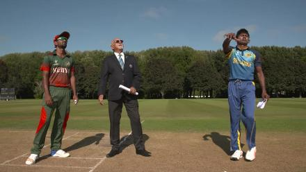 Pre-game: Sri Lanka U19s win the toss and bat against Kenya U19s