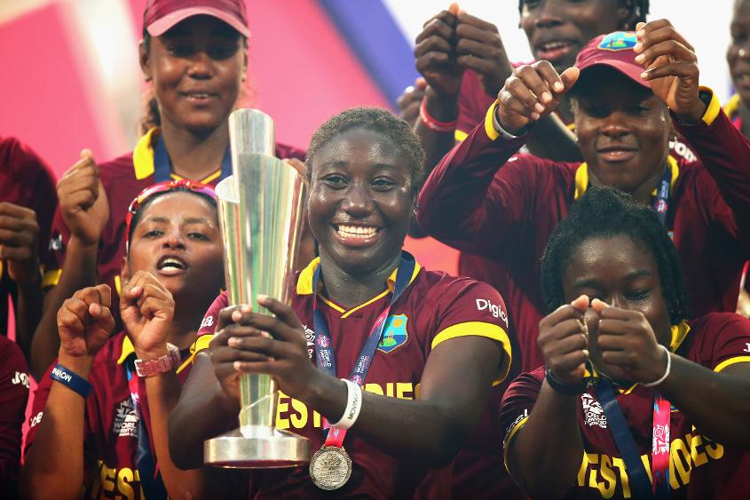Stafanie Taylor's West Indies team will be defending their title on home soil