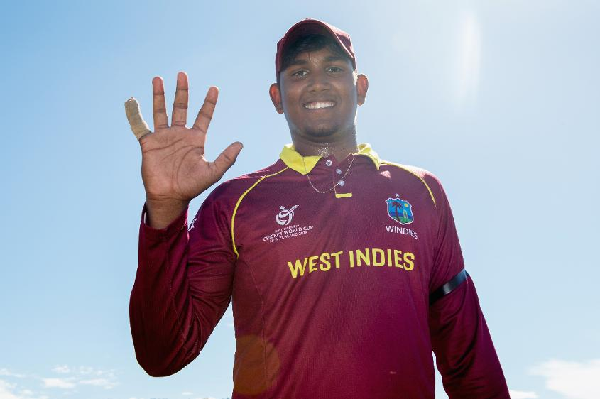 Bhaskar Yadram after his five-wicket haul against Kenya