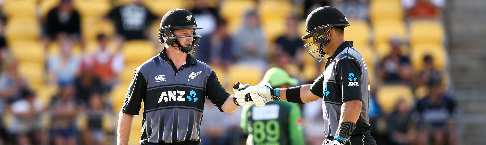 Colin Munro and Ross Taylor