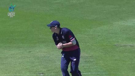 Ryan Hadley was the last to fall for Australia U19s