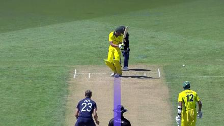 Zack Evans is another lbw victim to Will Jacks