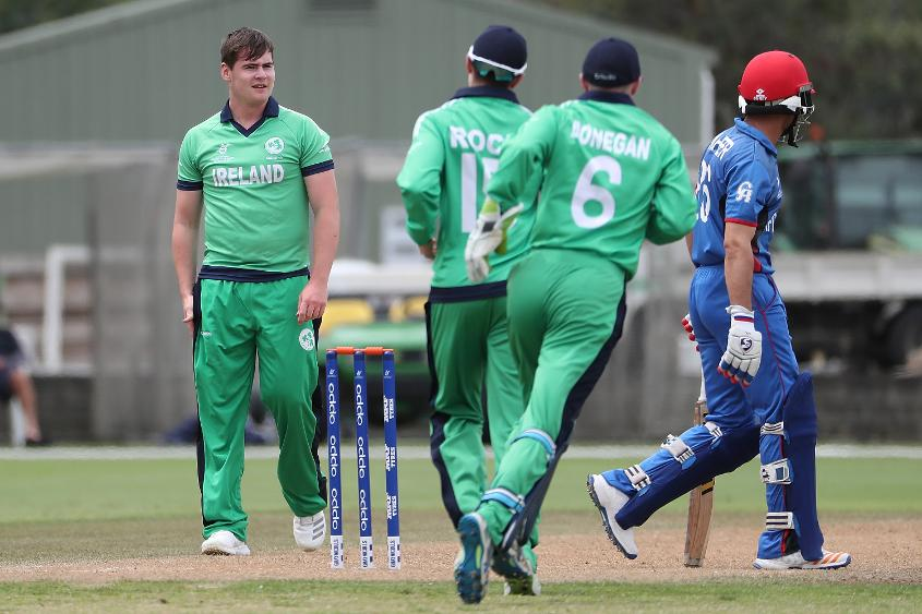 Little showed nerves of steel bowling at the death against Afghanistan