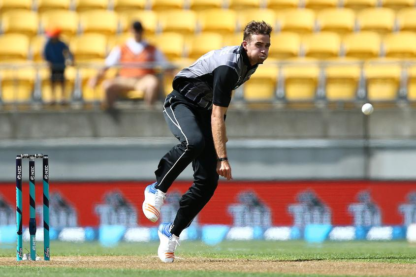 Tim Southee, the stand-in skipper, was impressive with the ball