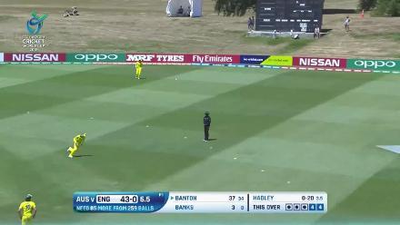 Tom Banton batting highlights against Australia at U19CWC