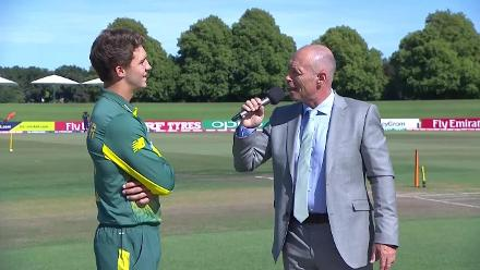 Pakistan win the toss and elect to bowl against South Africa in the U19CWC Super League quarter-finals