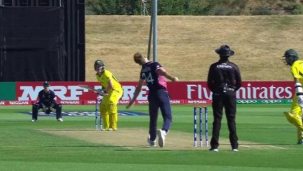 Dillon Pennington bowling highlights against Australia at U19CWC