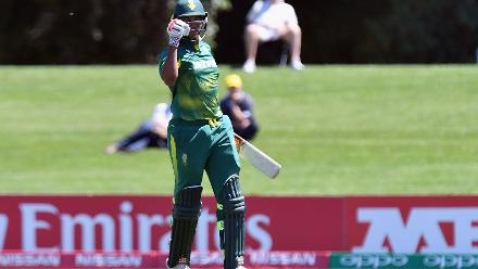 Wandile Makwetu's 60 against Pakistan in the U19CWC Super League quarter-finals