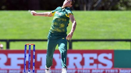 Gerald Coetzee of South Africa
