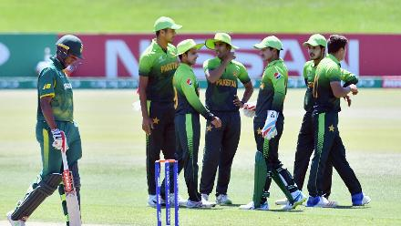 How the South Africa wickets fell against Pakistan in the U19CWC Super League quarter-finals