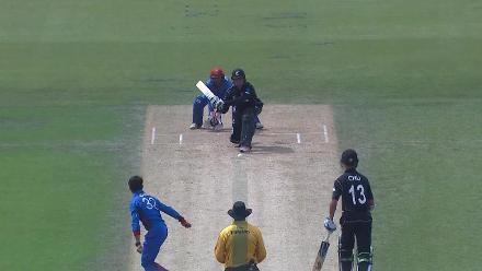 Katene Clarke out leg before wicket