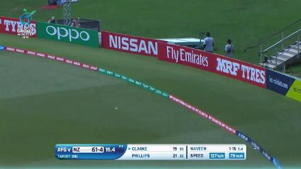 The top shots from New Zealand's ill-fated chase against Afghanistan