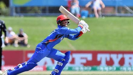 Highlights from Azmatullah's quick-fire 66 (23) against New Zealand