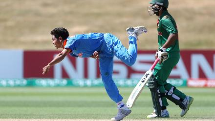 Nagarkoti the pick of India's bowlers with 3/18