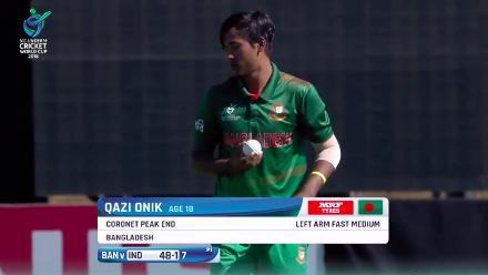 Qazi Onik's 3/48 against India
