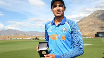 Shubman Gill named Player of the Match for his 86