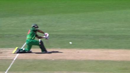 Pinak Ghosh departs for 43 against India