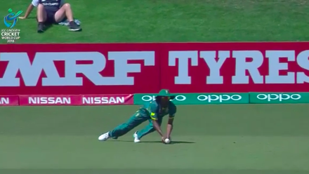U19CWC POTD - Smith's low diving catch