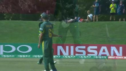 The dismissal of Matthew Fisher seals the victory for South Africa