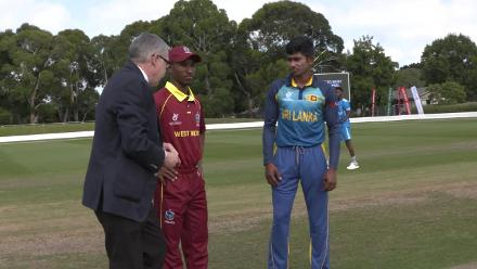 Sri Lanka U19's win toss and will bowl against West Indies