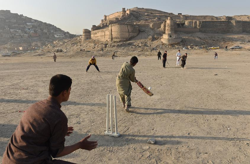 Cricket is on the rise throughout Afghanistan