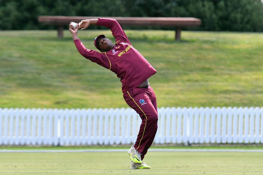 West Indies caught excellently