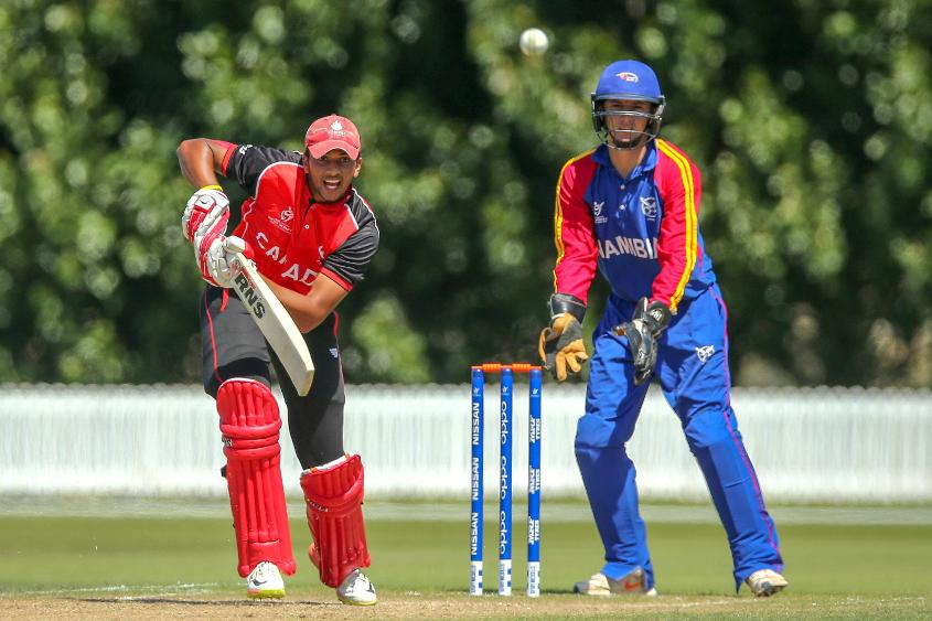 Akash Gill was the standout batsman of Canada's campaign