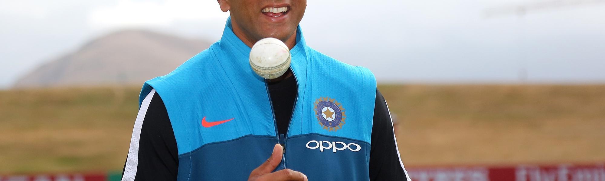 Rahul Dravid.