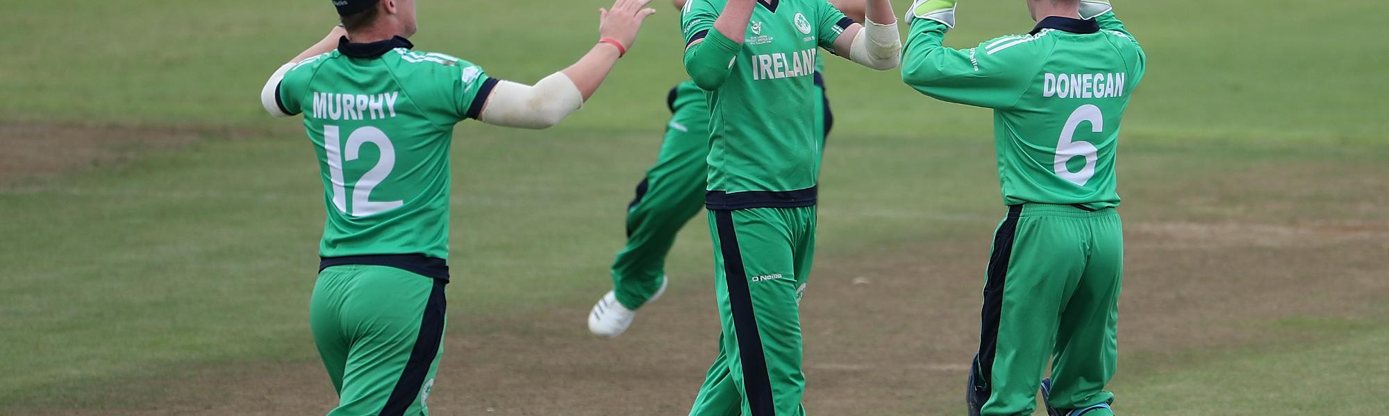 Ireland U19 celebrate
