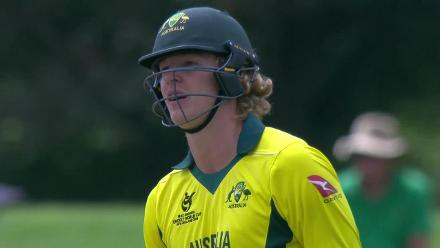 U19CWC POTD - Edwards smashes a six