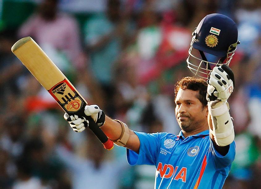 2011: Sachin Tendulkar hit a stunning century against South Africa