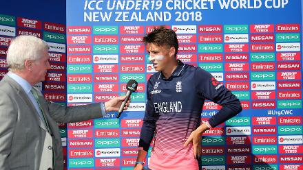 ICC U19 CWC 2018 - 7th Placed Play Off - New Zealand v England