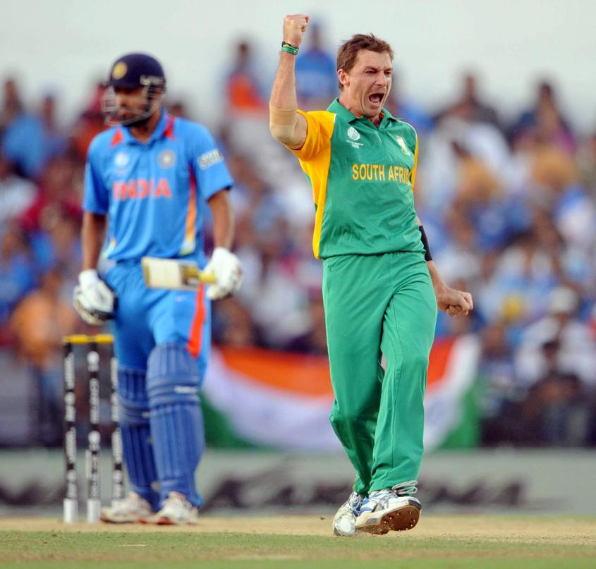 2011: Player of the Match Dale Steyn finished with figures of 5/50