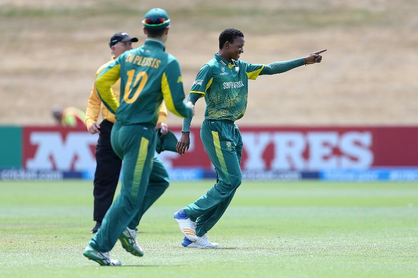 Akhonya Mnyaka took 3/27 for South Africa